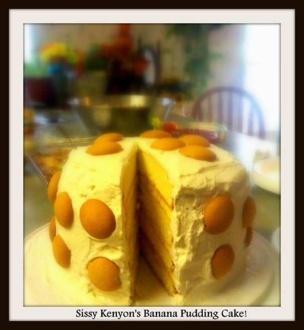 banana pudding cake 1
